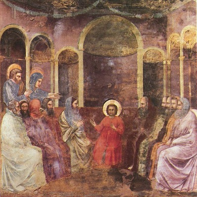 Giotto Scrovegni [22] Christ among the Doctors