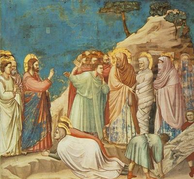 Giotto Scrovegni [25] Raising of Lazarus