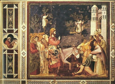Giotto Scrovegni [26] Entry into Jerusalem