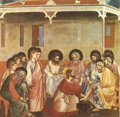 Giotto Scrovegni [30] Washing of Feet