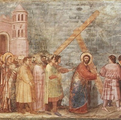 Giotto Scrovegni [34] Road to Calvary
