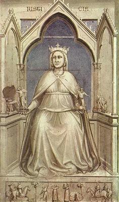 Giotto Scrovegni [43] Justice