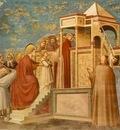 Giotto Scrovegni [08] Presentation of the Virgin in the Temple
