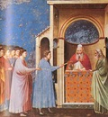 Giotto Scrovegni [09] The Rods Brought to the Temple