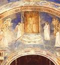 Giotto Scrovegni [13] God Sends Gabriel to the Virgin