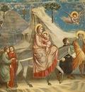 Giotto Scrovegni [20] Flight into Egypt