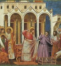 Giotto Scrovegni [27] Expulsion of the Money changers from the Temple