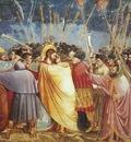 Giotto Scrovegni [31] Kiss of Judas
