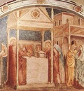 Giotto Life of St John the Baptist [01] Annunciation to Zacharias