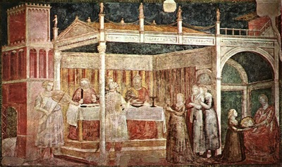 GIOTTO THE DANCE OF SALOME