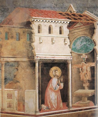Giotto Legend of St Francis [04] Miracle of the Crucifix