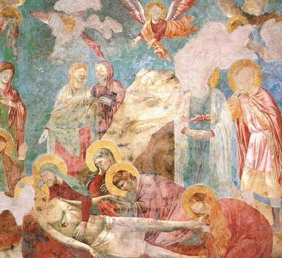 Giotto Scenes from the New Testament  Lamentation, fresco, U