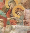 Giotto Scenes from the New Testament  Lamentation, Detalj, f