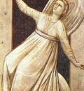 Giotto The Seven Vices Inconstancy, 1306, 120x55 cm, Arena
