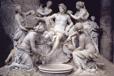 Apollo Served by the Nymphs, Francois Girardon 1600x1200