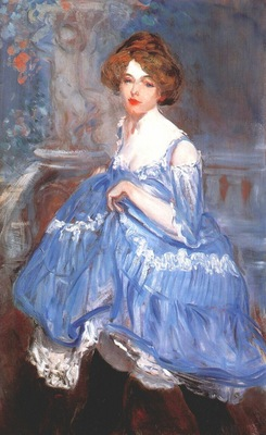 glackens dancer in blue c1905