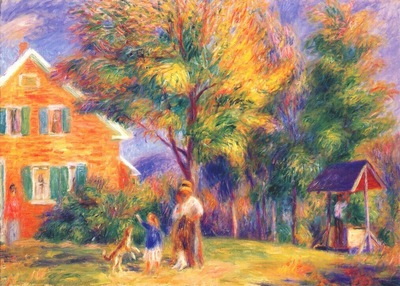 glackens home in new hampshire c1919