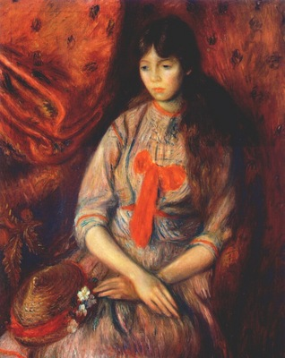 glackens portrait of a young girl