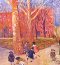 glackens 29 washington square c1912
