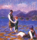 glackens lake bathers, no 2 c1920