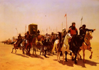Glass James William Richard, Coeur De Lion, On His Way To Jerusalem