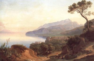 Blick auf Amalfi im Golf von Sorrent