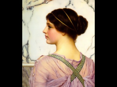 A Grecian Lovely c1909