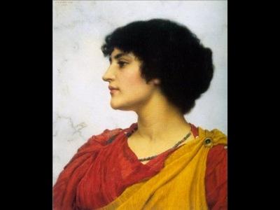 an italian girls head