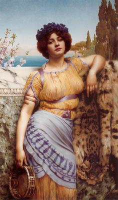Godward Ionian Dancing Girl