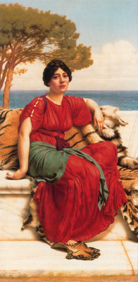 godward john w by the blue ionian sea