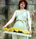 godward a flower seller