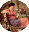 godward john w the time of roses