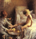 Goeneutte Norbert Reine Goeneutte Washing The Young Jean Guerard In The Artists Studio