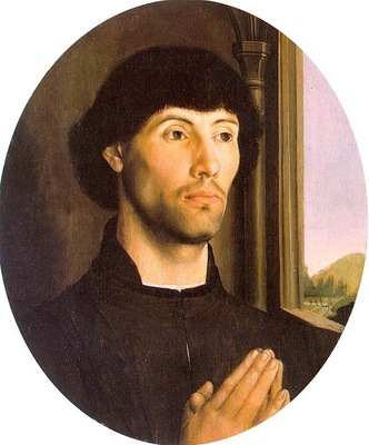 Goes Portrait of a Man, late 1400s, tempera and oil on wood,