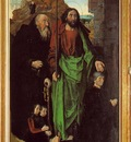 Goes The Portinari Triptych, ca 1475, Left panel Tommaso Po