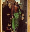Goes The Portinari Triptych, ca 1475, Left panel Tommaso Po