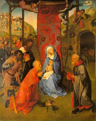 goes, hugo van der, follower of flemish, 1400s