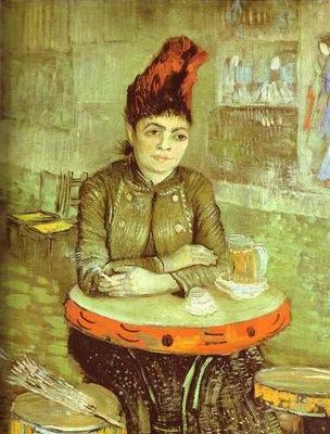 Agostina Segatori au cafe du Tambourin