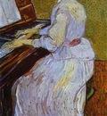 Mademoiselle Gachet au piano