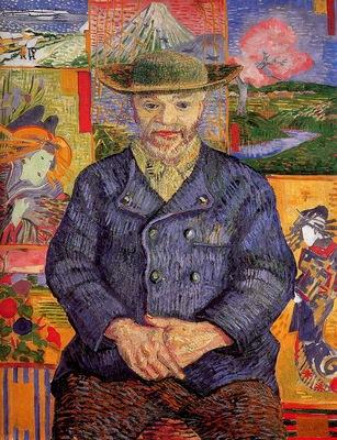 Gogh van Vincent Pere Tanguy Sun
