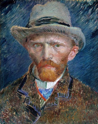 Gogh van Vincent Self portrait Sun