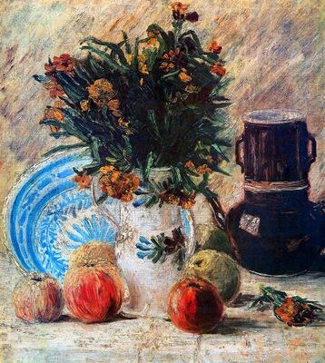 Gogh van Vincent Still life Sun