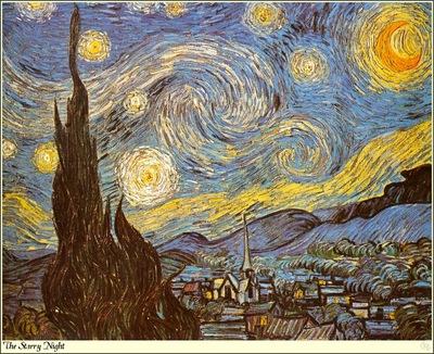Republica SWD 035 Van Gogh The Starry Night
