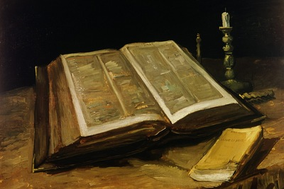 The Bible, Van Gogh, 1885 1600x1200 ID 8035 PREMIUM