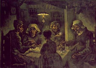 Van Gogh The potato eaters, 1885, 82x114 cm, Vincent van Gog