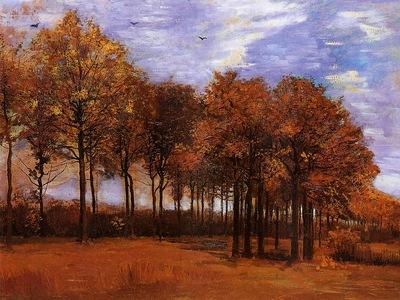 Van Gogh Vincent Autumn Landscape