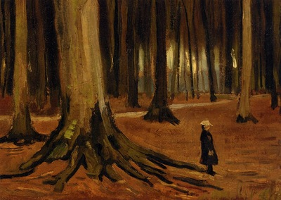 Van Gogh Vincent Girl in the Woods