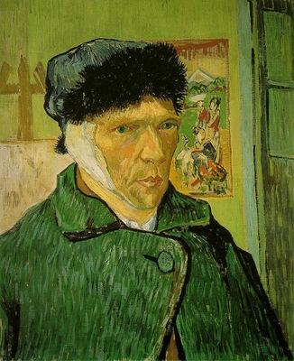 van Gogh Self portrait with bandaged ear, 1889, 60x49 cm, Co