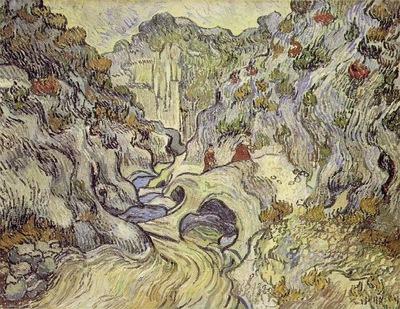 van Gogh The Ravine, 1889, 73x92 cm, Rijksmuseum Kroller Mul