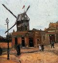Gogh van Vincent Le Moulin de la Galette Sun